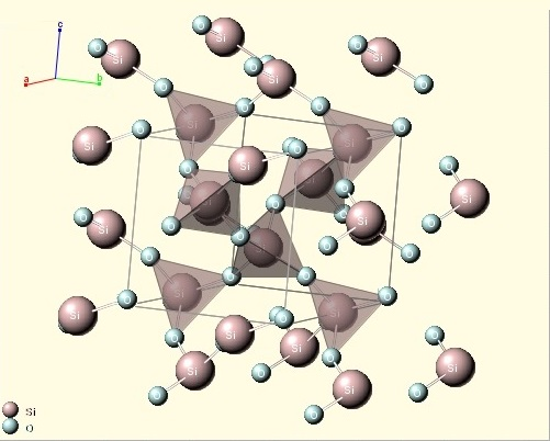 структура хризопраза