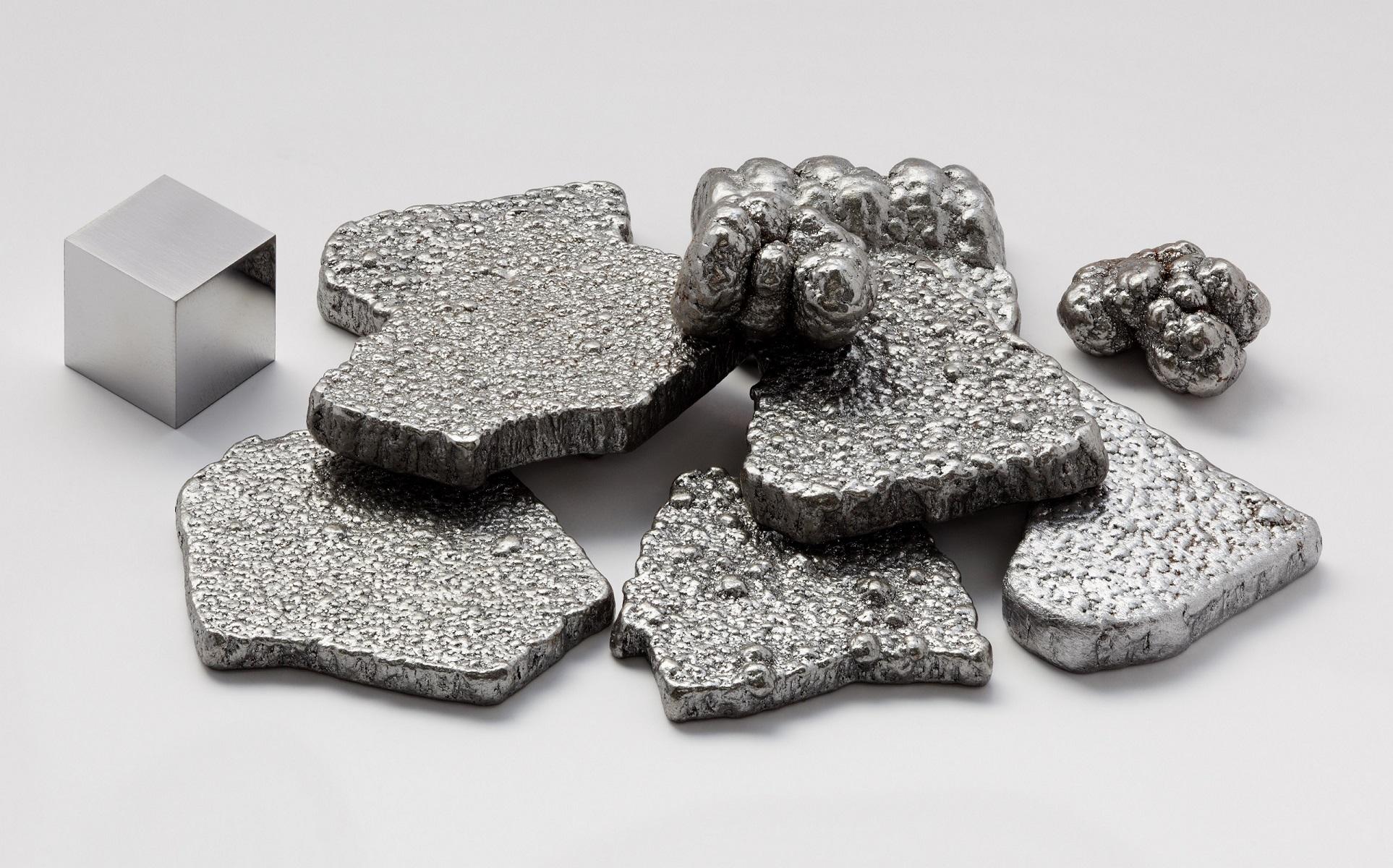 Чистое железо (99,97%), очищенное методом электролиза