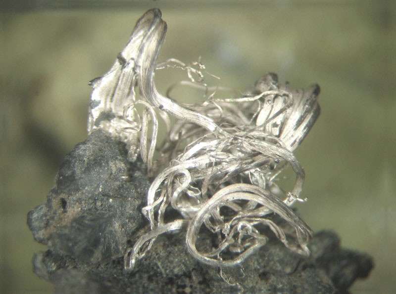 Серебро, ширина 1 см, Марокко, шахта Имитер