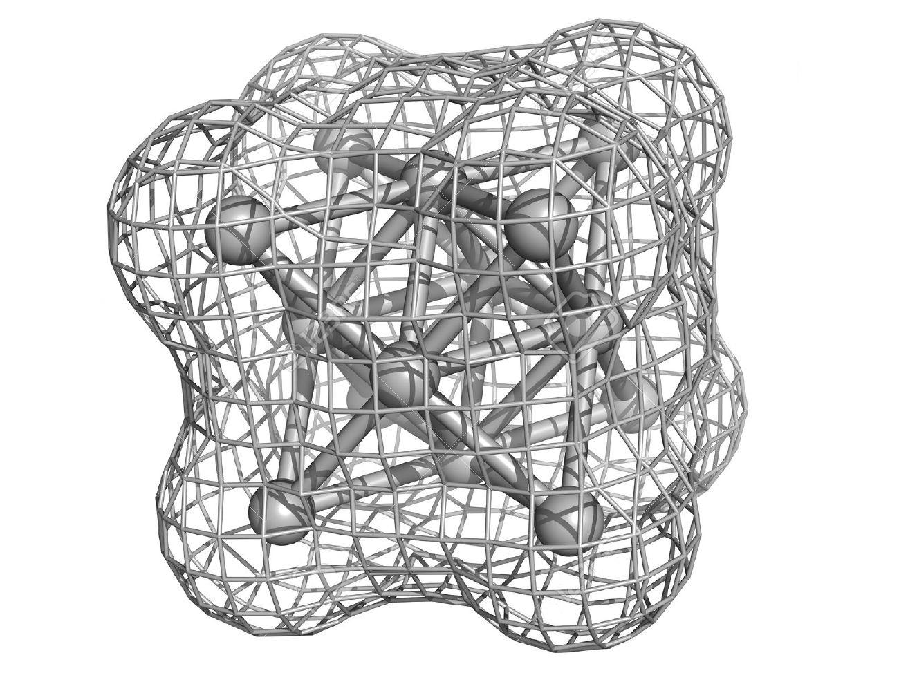Кристаллическая структура серебра