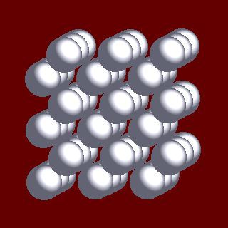Кристаллическая структура хрома