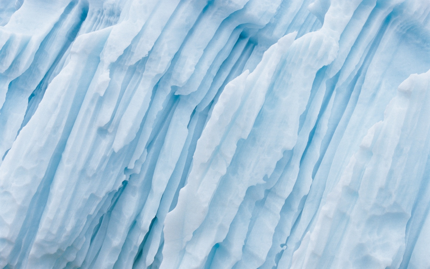 Слои льда