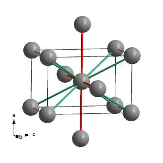 Кристаллическая структура индия
