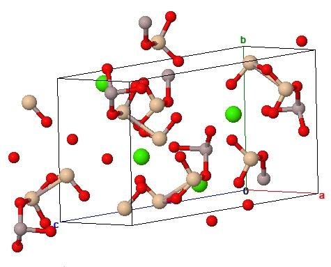 Кристаллическая структура маргарита