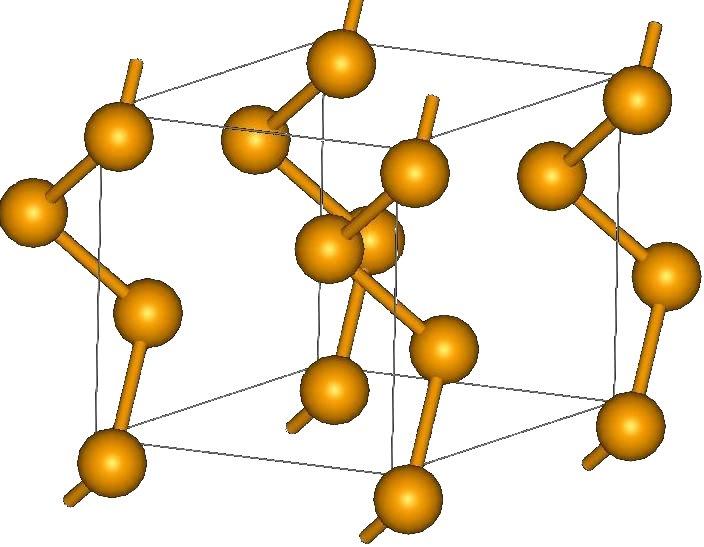 Кристаллическая структура селена