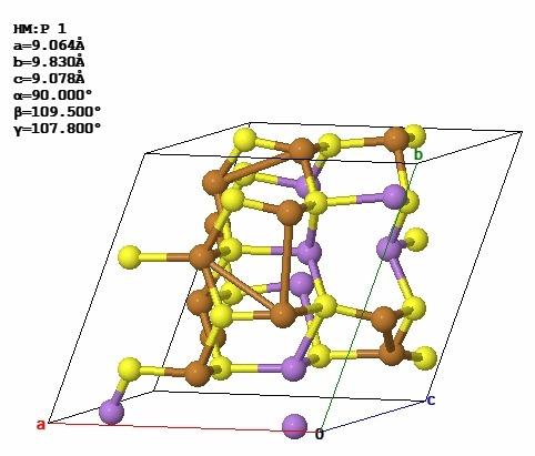 структура зинерита