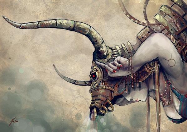 телец женщина